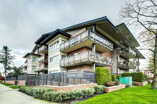 "Photo 1: 203 1988 SUFFOLK Avenue in Port Coquitlam: Glenwood PQ Condo for sale in ""MAGNOLIA GARDENS"" : MLS®# R2362588"