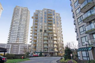 """Photo 1: 505 828 AGNES Street in New Westminster: Downtown NW Condo for sale in """"WESTMINSTER TOWERS"""" : MLS®# R2375343"""