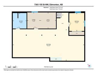 Photo 36: 7303 155 Street in Edmonton: Zone 22 House for sale : MLS®# E4224729