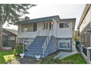 Photo 1: 4455 ATLIN Street in Vancouver: Renfrew Heights House for sale (Vancouver East)  : MLS®# V1033103