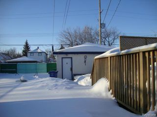 Photo 19: 880 REDWOOD Avenue in WINNIPEG: North End Residential for sale (North West Winnipeg)  : MLS®# 1402237