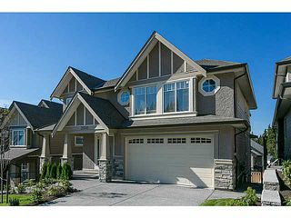 Photo 1: 3526 CHANDLER Street in Coquitlam: Burke Mountain House for sale : MLS®# V1084801