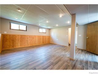 Photo 18: 30 BELL Bay in SELKIRK: City of Selkirk Residential for sale (Winnipeg area)  : MLS®# 1523827