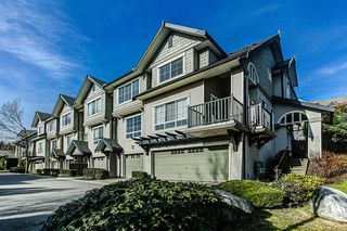 "Photo 1: 18 2978 WHISPER Way in Coquitlam: Westwood Plateau Townhouse for sale in ""WHISPER RIDGE"" : MLS®# R2038558"