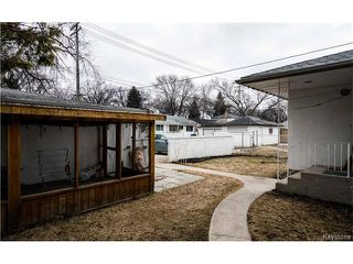 Photo 20: Campbell Street in Winnipeg: Residential for sale (1D)  : MLS®# 1706980