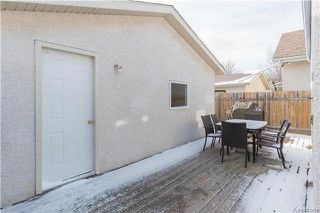 Photo 19: 52 Zawaly Bay in Winnipeg: Canterbury Park Residential for sale (3M)  : MLS®# 1728365