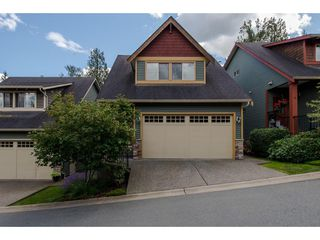 "Photo 1: 8 36169 LOWER SUMAS MTN Road in Abbotsford: Abbotsford East Townhouse for sale in ""Junction Creek"" : MLS®# R2283767"