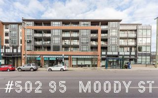 """Main Photo: 502 95 MOODY Street in Port Moody: Port Moody Centre Condo for sale in """"THE STATION"""" : MLS®# R2334842"""
