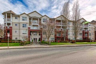 "Photo 1: 415 8068 120A Street in Surrey: Queen Mary Park Surrey Condo for sale in ""Melrose Place"" : MLS®# R2422269"