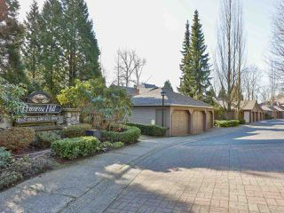 "Main Photo: 8850 LARKFIELD Drive in Burnaby: Forest Hills BN Townhouse for sale in ""PRIMROSE HILL"" (Burnaby North)  : MLS®# R2439603"