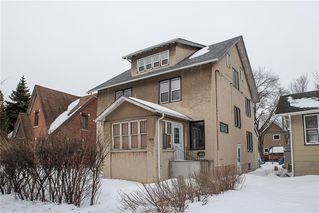 Photo 1: 492 Dominion Street in Winnipeg: Wolseley Residential for sale (5B)  : MLS®# 202005747