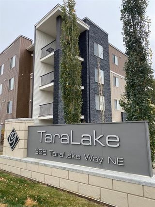 Photo 1: 322 355 Taralake Way NE in Calgary: Taradale Apartment for sale : MLS®# A1040553