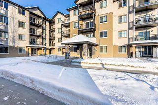 Photo 1: 409 10530 56 Avenue in Edmonton: Zone 15 Condo for sale : MLS®# E4219850