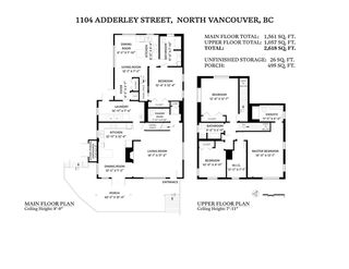 Photo 40: 1104 ADDERLEY Street in North Vancouver: Calverhall House for sale : MLS®# R2514323