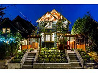 Photo 1: 1282 E 14TH Avenue in Vancouver: Mount Pleasant VE 1/2 Duplex for sale (Vancouver East)  : MLS®# V1035359