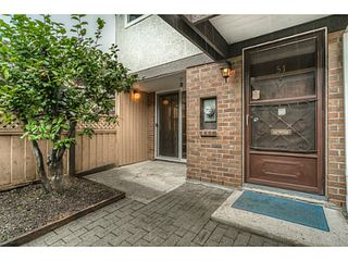 """Photo 2: 51 3046 COAST MERIDIAN Road in Port Coquitlam: Birchland Manor Townhouse for sale in """"WOODSIDE ESTATES"""" : MLS®# V1092086"""