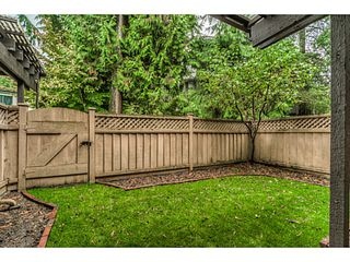 """Photo 22: 51 3046 COAST MERIDIAN Road in Port Coquitlam: Birchland Manor Townhouse for sale in """"WOODSIDE ESTATES"""" : MLS®# V1092086"""