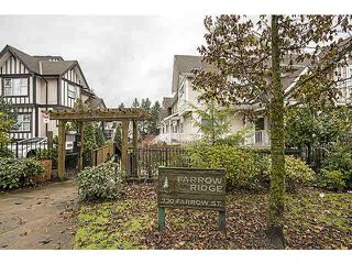 "Photo 1: 18 730 FARROW Street in Coquitlam: Coquitlam West Townhouse for sale in ""FARROW RIDGE"" : MLS®# V1097692"