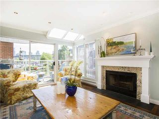 "Photo 4: 1587 MARINER Walk in Vancouver: False Creek Townhouse for sale in ""LAGOONS"" (Vancouver West)"