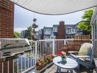 "Photo 1: 1587 MARINER Walk in Vancouver: False Creek Townhouse for sale in ""LAGOONS"" (Vancouver West)"