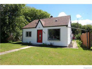 Photo 1: 132 Pilgrim Avenue in WINNIPEG: St Vital Residential for sale (South East Winnipeg)  : MLS®# 1521938