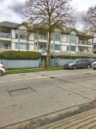 "Photo 1: 208 8633 SW MARINE Drive in Vancouver: Marpole Condo for sale in ""SOUTHBEND"" (Vancouver West)  : MLS®# R2157994"