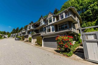 Photo 1: 9263 GOLDHURST TERRACE in Burnaby: Forest Hills BN Townhouse for sale (Burnaby North)  : MLS®# R2171039