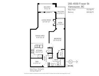 "Photo 17: 205 4550 FRASER Street in Vancouver: Fraser VE Condo for sale in ""CENTURY"" (Vancouver East)  : MLS®# R2257241"