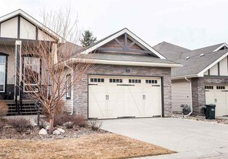 Main Photo: 12 400 Jim common Drive: Sherwood Park House Half Duplex for sale : MLS®# E4152435
