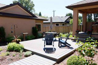 Photo 44: 9819 147 Street NW in Edmonton: Zone 10 House for sale : MLS®# E4220789
