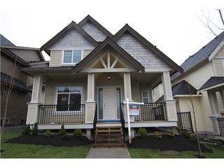 Photo 1: 1379 TRAFALGAR ST in Coquitlam: Burke Mountain House for sale : MLS®# V938022