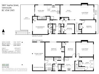 Photo 6: 5807 SOPHIA Street in Vancouver: Main House for sale (Vancouver East)  : MLS®# R2130702