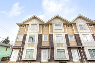 Photo 1: 4 2321 RINDALL Avenue in Port Coquitlam: Central Pt Coquitlam Townhouse for sale : MLS®# R2137602