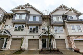 "Photo 1: 30 1362 PURCELL Drive in Coquitlam: Westwood Plateau Townhouse for sale in ""WHITETAIL LANE"" : MLS®# R2146428"