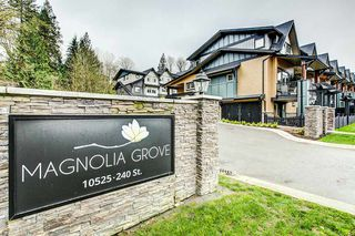 "Photo 1: 45 10525 240 Street in Maple Ridge: East Central Townhouse for sale in ""MAGNOLIA GROVE"" : MLS®# R2256172"