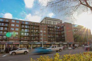 Main Photo: 310 11025 JASPER Avenue in Edmonton: Zone 12 Condo for sale : MLS®# E4131042