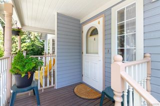 Photo 2: 4 419 Parry Street in VICTORIA: Vi James Bay Row/Townhouse for sale (Victoria)  : MLS®# 410226