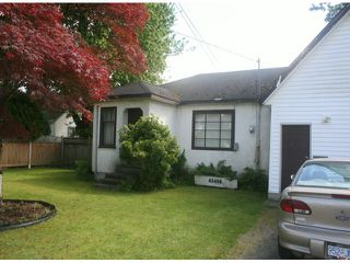 Photo 1: 45408 WELLINGTON Avenue in Chilliwack: House for sale : MLS®# H1304300