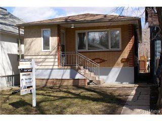 Photo 1: 1867 TORONTO Street in Regina: General Hospital Single Family Dwelling for sale (Regina Area 03)  : MLS®# 501275