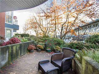 "Photo 18: 102 1502 ISLAND PARK Walk in Vancouver: False Creek Condo for sale in ""THE LAGOONS"" (Vancouver West)  : MLS®# V1108312"