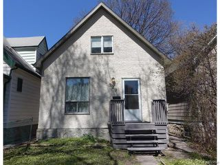 Photo 1: 329 Arnold Avenue in Winnipeg: Manitoba Other Residential for sale : MLS®# 1611121