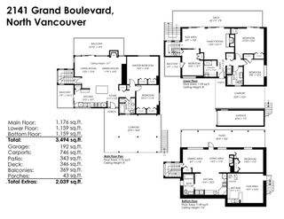 Photo 20: 2141 GRAND Boulevard in North Vancouver: Boulevard House for sale : MLS®# R2236076