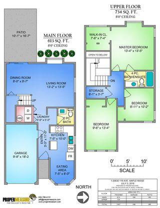 """Photo 18: 1 20630 118 Avenue in Maple Ridge: Southwest Maple Ridge Townhouse for sale in """"WESTGATE TERRACE"""" : MLS®# R2286762"""