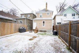 Photo 17: 709 Victor Street in Winnipeg: West End Residential for sale (5A)  : MLS®# 1829763