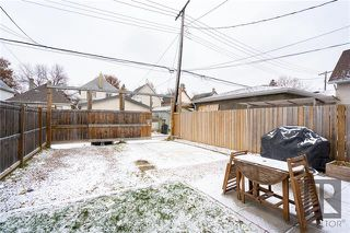 Photo 18: 709 Victor Street in Winnipeg: West End Residential for sale (5A)  : MLS®# 1829763