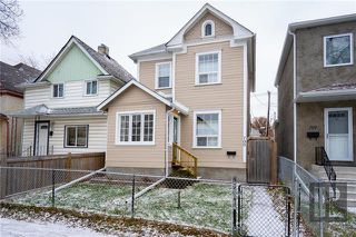 Photo 1: 709 Victor Street in Winnipeg: West End Residential for sale (5A)  : MLS®# 1829763