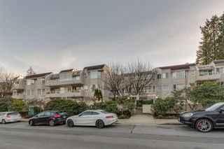"Photo 1: 102 1155 ROSS Road in North Vancouver: Lynn Valley Condo for sale in ""THE WAVERLEY"" : MLS®# R2337934"