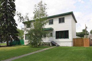 Photo 1: 13534 WOODCROFT Avenue in Edmonton: Zone 07 House Half Duplex for sale : MLS®# E4164725