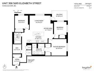"""Photo 20: 308 5693 ELIZABETH Street in Vancouver: Cambie Condo for sale in """"THE PARKER"""" (Vancouver West)  : MLS®# R2450813"""