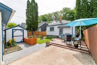 Photo 21: 813 Dudley Avenue in Winnipeg: Residential for sale (1B)  : MLS®# 202013908